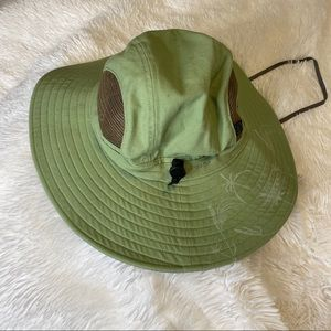Outdoor Research Vented Wide Brim Sun Hat Green